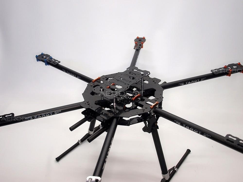 TAROT FY680 HEXACOPTER - AEROBOT UAV Flight Systems Multicopter und ...